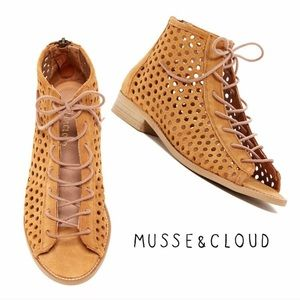 Musse & Cloud Aiden perforated leather sandal